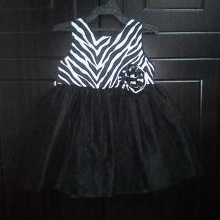 Black baby gown