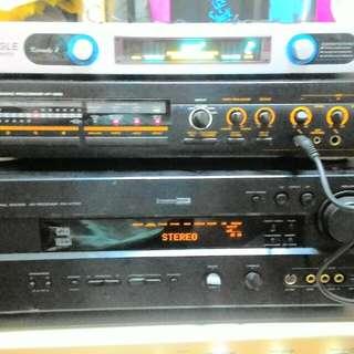 Yamaha Amplifier and yamaha microphone tuner
