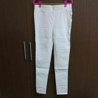 休閒褲(白色)