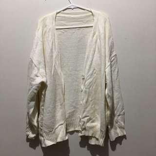 🚚 米白針織外套