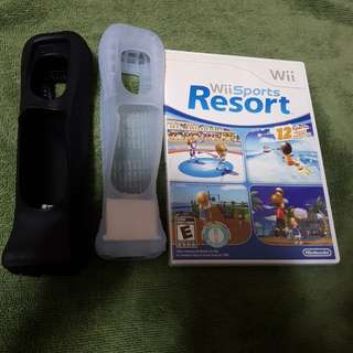 Wii Game wii sports resort with motionplus attachment