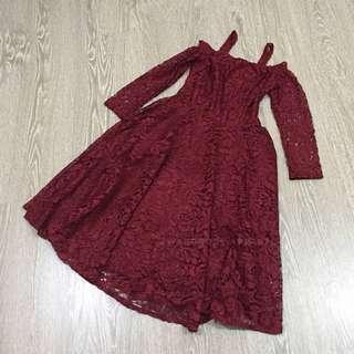 Aldora Dress [Christmas Collection]