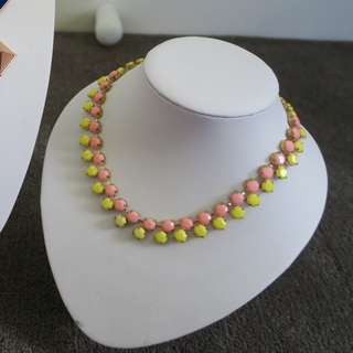 Pink & Yellow Nacklace