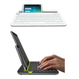 Bluetooth Multi Device Phone Tablet Keyboard