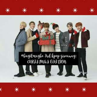 [OPEN GIVEAWAY] Kpop Christmas Edition