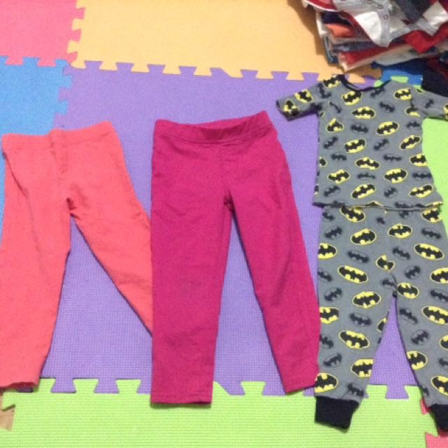 20 each for pajamas - 50 for romper