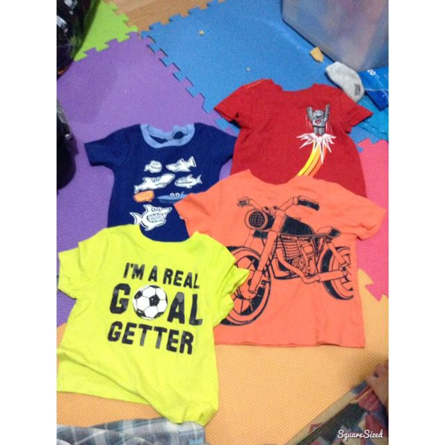 20 each for shirts and bottoms 40 for pants