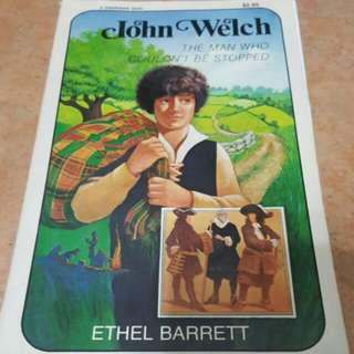 Ethel Barrett  John Welch: The Man Who Couldn't Be Stopped