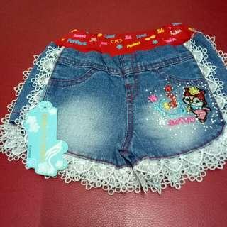 Celana jens pendek anak