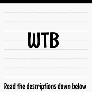 [WTB] BTS & WANNA ONE ALBUMS