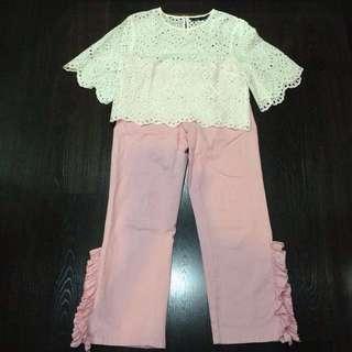 Brand new Zara pink pants