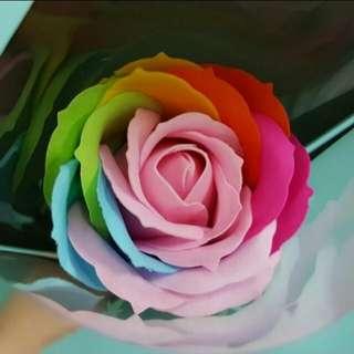 Unicorn Soap Rose