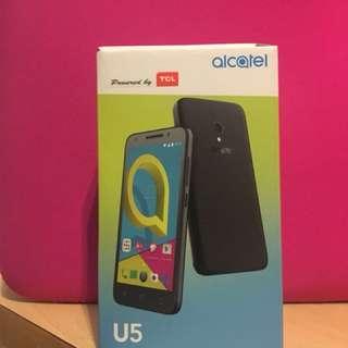 全新alcatel u5 手機 brand new😁