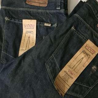 Vans signature jeans..