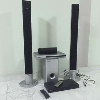 Pioneer DVD Player and Sound System