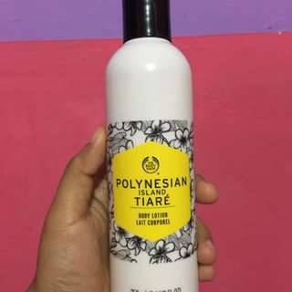 BODY SHOP POLYNESIAN ISLAND TIARE BODY LOTION