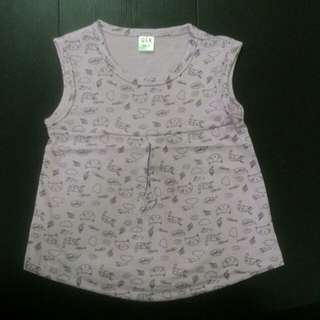 🆕 lite purple top / sleeveless