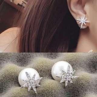 korea Style pearl earing