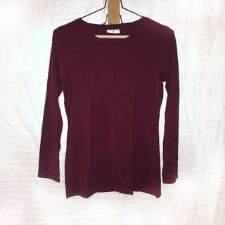 Grab-A-Tee maroon sweater