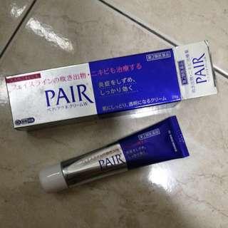Pair pimple cream