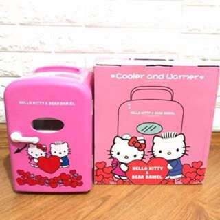 Hello Kitty Portable Cooler Warmer Mini Fridge for Home or Car