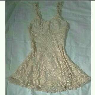 Lace Lingerie Dress