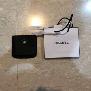 Chanel paper bad & compact powder cover