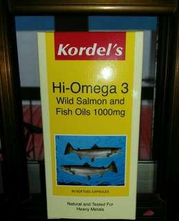 High Omega 3 wild Salmon Fish Oils