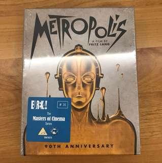 Metropolis 大都會電影 blueray + dvd 三碟limited edition 全球限量二千套