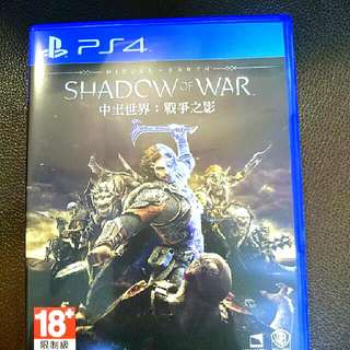 PS4 中土世界:戰爭之影 (中英文版)