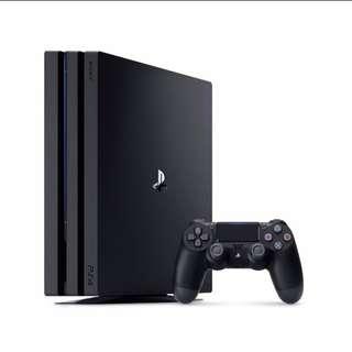 Sony PS4 4K 1TB Pro HDR BNIB