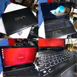 Sony VAIO E i7 3rd Gen 3.3GHZ 750GB 8GB ATI 17 Inch Notebook $525