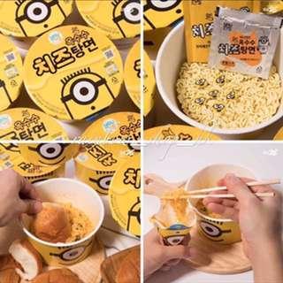 韓國代購🇰🇷Minions粟米芝士味杯麵 即食麵
