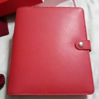 Large leather personal plamner