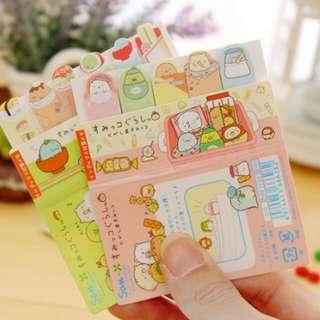 10 Sumikko Gurashi Page Marker