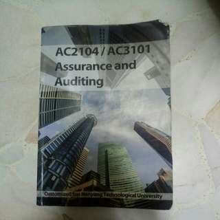 AC2104 Assurance and Auditing +softcopy bible
