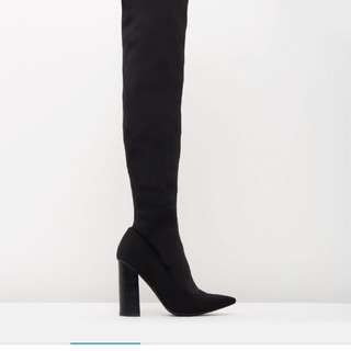 Lyra over the knee boots from THE ICONIC au7