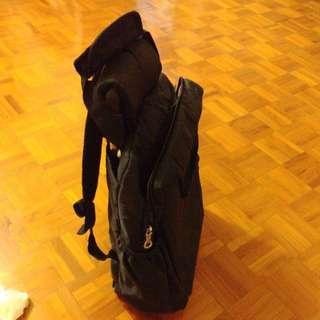 黑色手拉背包两用袋