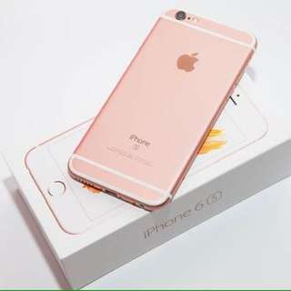 Iphone6s 128G rose gold