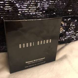 Bobbi brown shimmer brick compact (rose)