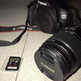 Canon 1300D  Pristine Condition