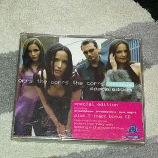 Music cd the corrs autograph signed in blue special edition cd album