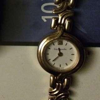 女仕名錶14K Gold 準時