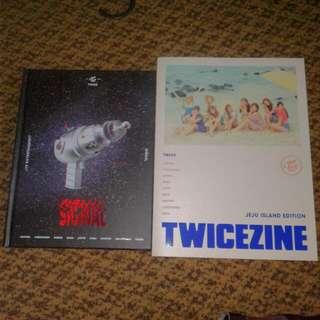 (COMBO DEAL) Signal Monograph & Twicezine Photobook