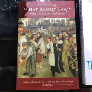 What About Law ? - studying law at university (2nd Edition)