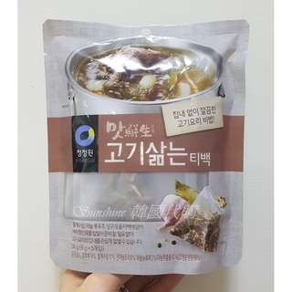 現貨 韓國原裝 清淨園 大象牌 香料湯包