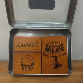 Rubber stamps - Sweet Treats