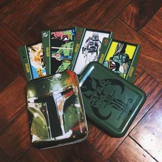 Star Wars: Boba Fett Playing Cards in Collectible Tin