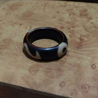 天珠老戒指/尾戒