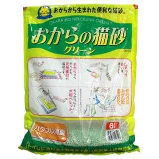 日立環保綠色豆腐砂 3L貓砂